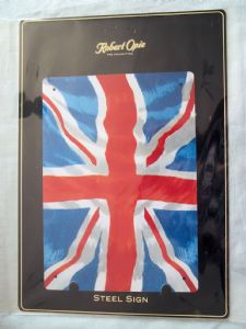 Union Jack Metal Wall Sign